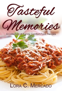 This book is a collection of recipes from my family that are near and dear to my heart. Many of my relatives featured in this collection have passed away. It gives me great pleasure to let their spirit live on when others make these delicious concoctions.  These recipes have come straight out of the old recipe box of my mother's. You will find an assortment of desserts, entrees, side dishes and a lot of love within these pages. I grew up on these recipes and I hope that it brings a little taste of my home into yours.  Tasteful Memories includes over twenty recipes, including:: Best Ever Baked Beans, Cheesy Baked Chicken, Italian Chicken and Potatoes, Potato Cheese Soup, Chef Roberto's Spaghetti Sauce, Stuffed Peppers, Cinnamon Apples, Cheese Wafers, Strawberry Pie, and MORE!